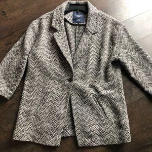 American Eagle tweed blazer.